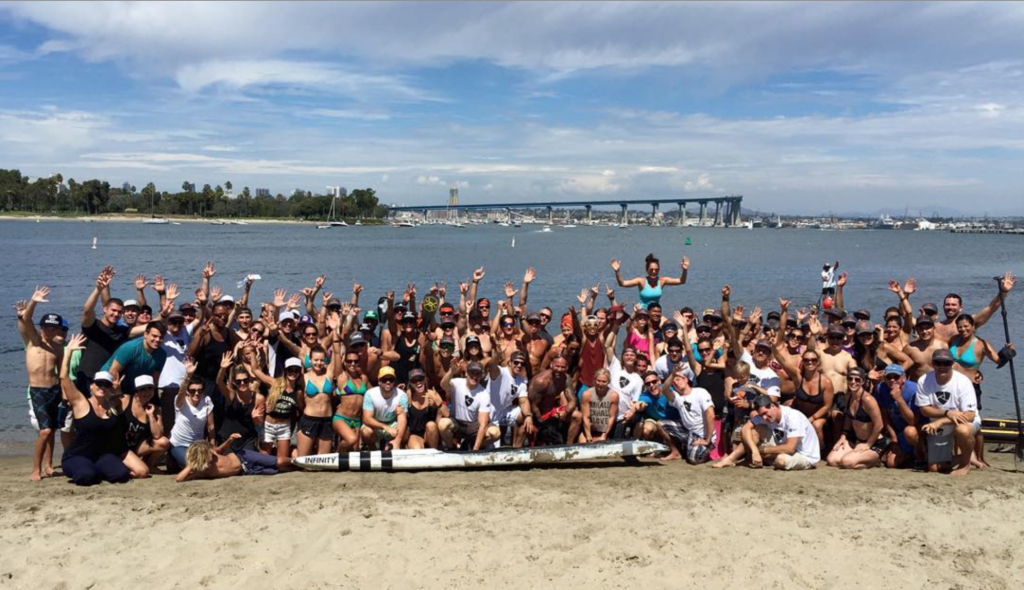 Greetings from the 2015 Paddles Games in sunny Coronado, California